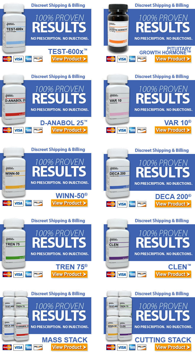 Buy steroids product list